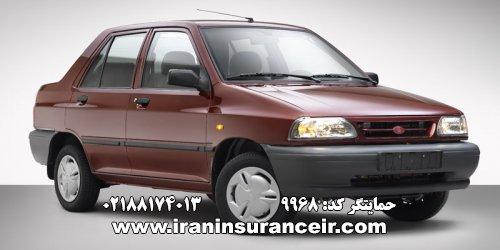 بیمه شخص ثالث پراید سایپا 131 SE : قیمت بیمه شخص ثالث بیمه ایران - محاسبه آنلاین Online Iran Car Insurance