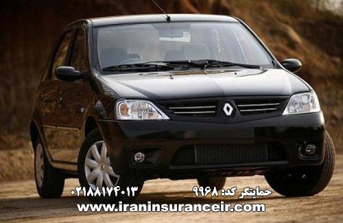 بیمه شخص ثالث رنو تندر E2 گیربکس JHQ : قیمت بیمه شخص ثالث بیمه ایران - محاسبه آنلاین Online Iran Car Insurance