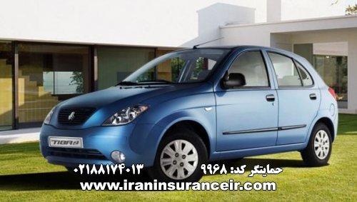 بیمه شخص ثالث تیبا 2 : قیمت بیمه شخص ثالث بیمه ایران - محاسبه آنلاین Online Iran Car Insurance