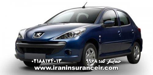 بیمه شخص ثالث پژو 207 دندهای : قیمت بیمه شخص ثالث بیمه ایران - محاسبه آنلاین Online Iran Car Insurance