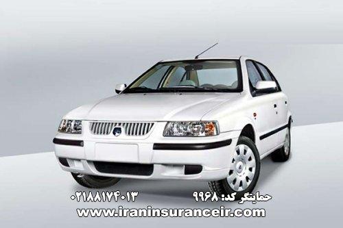 بیمه شخص ثالث سمند EF7 : قیمت بیمه شخص ثالث بیمه ایران - محاسبه آنلاین Online Iran Car Insurance