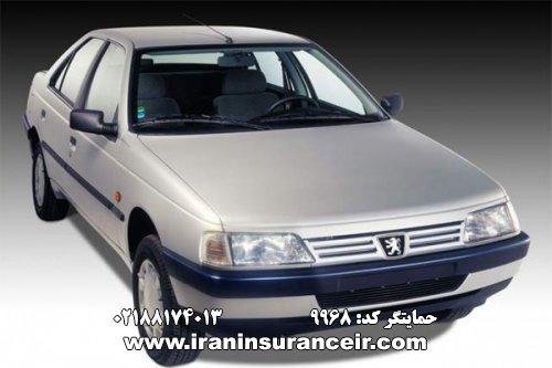 بیمه شخص ثالث پژو GLX 405 دوگانه سوز : قیمت بیمه شخص ثالث بیمه ایران - محاسبه آنلاین Online Iran Car Insurance