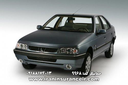 بیمه شخص ثالث پژو GLX 405 : قیمت بیمه شخص ثالث بیمه ایران - محاسبه آنلاین Online Iran Car Insurance