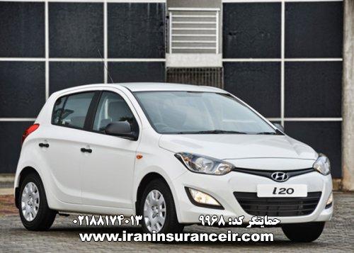 بیمه شخص ثالث هیوندای I20 جدید : قیمت بیمه شخص ثالث بیمه ایران - محاسبه آنلاین Online Iran Car Insurance