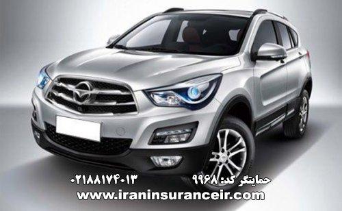 بیمه شخص ثالث هایما S5 : قیمت بیمه شخص ثالث بیمه ایران - محاسبه آنلاین Online Iran Car Insurance
