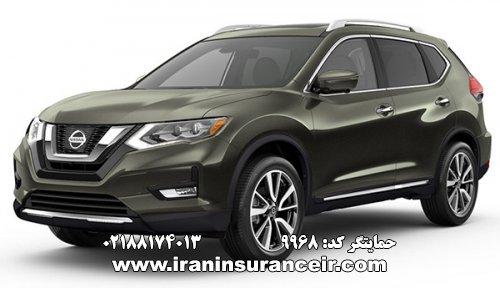 بیمه شخص ثالث نیسان ایکس تریل : قیمت بیمه شخص ثالث بیمه ایران - محاسبه آنلاین خرید اینترنتی internet Online Iran Car Insurance