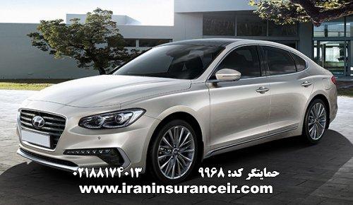 بیمه شخص ثالث هیوندای آزرا : قیمت بیمه شخص ثالث بیمه ایران - محاسبه آنلاین Online Iran Car Insurance