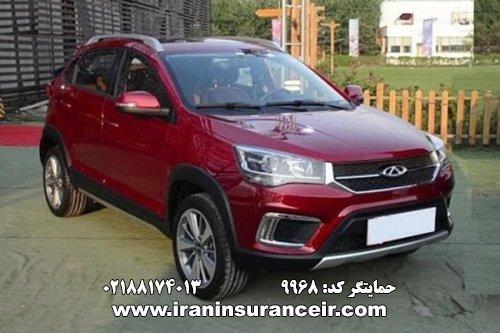 بیمه شخص ثالث ام وی ام ام وی ام MVM X22 - دنده ای (اسپورت) EX : قیمت بیمه شخص ثالث بیمه ایران - محاسبه آنلاین Online Iran Car Insurance