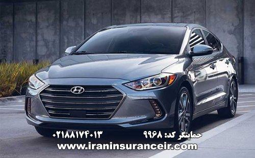 بیمه شخص ثالث هیوندای النترا 2.0 : قیمت بیمه شخص ثالث بیمه ایران - محاسبه آنلاین Online Iran Car Insurance