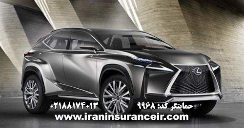 بیمه شخص ثالث لکسوس RX200T فول : قیمت بیمه شخص ثالث بیمه ایران - محاسبه آنلاین خرید اینترنتی internet Online Iran Car Insurance